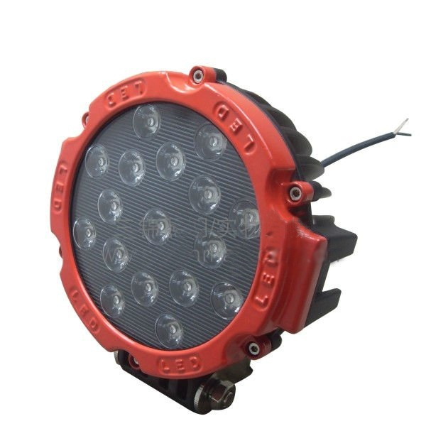 Fjernlys 7'' LED, 3500 lumen, 51W, IP68